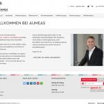 Screenshot AUMEAS.de