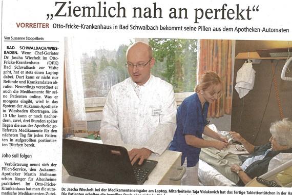 Klinikblister Wiesbadener Kurier