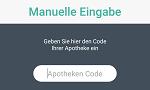 App Setup Manuelle Eingabe